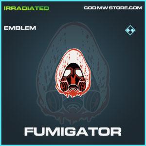 Fumigator emblem rare call of duty modern warfare warzone item