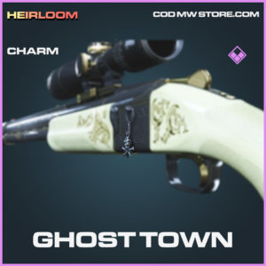 Ghost Town Charm epic call of duty modern warfare warzone item
