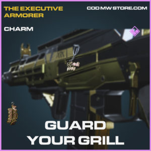 Guard Your Grill Charm epic call of duty modern warfare warzone item