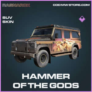 Hammer of the Gods SUV Skin epic call of duty modern warfare warzone item