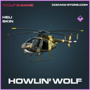 Howlin' Wolf Heli Skin epic call of duty modern warfare warzone item