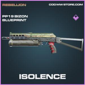 Isolence PP19 Bizon skin epic blueprint call of duty modern warfare warzone item