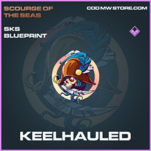 Keelheauled SKS skin epic blueprint call of duty modern warfare warzone item
