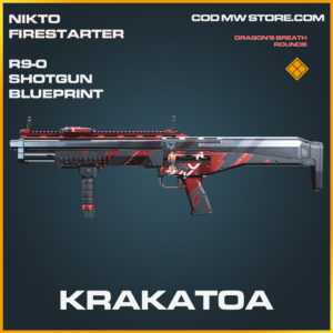 Krakatoa R9-0 Shotgun skin legendary blueprint call of duty modern warfare warzone item