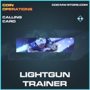 Lightgun Trainer calling card rare call of duty modern warfare warzone item
