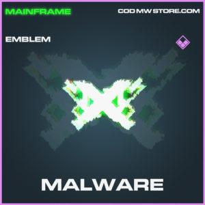 Malware emblem epic call of duty modern warfare warzone item