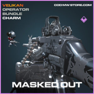 Masked Out Charm epic call of duty modern warfare warzone item
