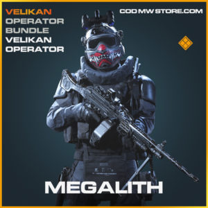 Megality Velikan Skin Operator legendary call of duty modern warfare warzone item