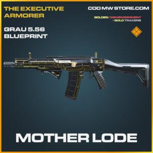 Mother Lode Grau 5.56 skin legendary blueprint call of duty modern warfare warzone item