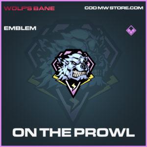 On The Prowl emblem epic call of duty modern warfare warzone item