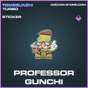Professor Gunchi sticker epic call of duty modern warfare warzone item