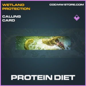 Protein Diet calling card epic call of duty modern warfare warzone item