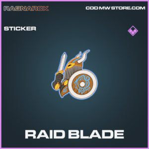 Raid Blade sticker epic call of duty modern warfare warzone item