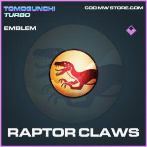 Raptor Claws emblem epic call of duty modern warfare warzone item