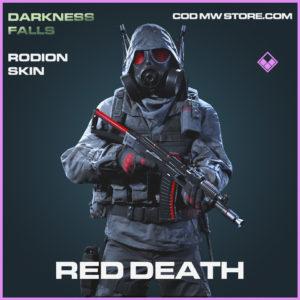 Red Death rodion skin epic call of duty modern warfare warzone item