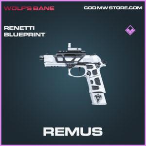Remus Renetti skin epic blueprint call of duty modern warfare warzone item