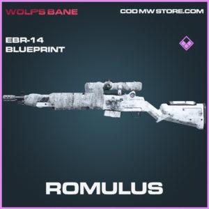 Romulus EBR-14 skin epic blueprint call of duty modern warfare warzone item