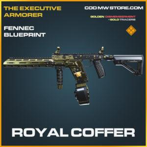 Royal Coffer Fennec skin legendary blueprint call of duty modern warfare warzone item