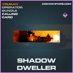 Shadow Dweller calling card epic call of duty modern warfare warzone item