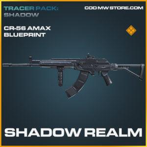 Shadow Realm CR-56 AMAX skin legendary blueprint call of duty modern warfare warzone item