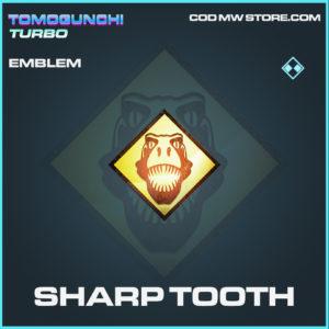 Sharp Tooth emblem rare call of duty modern warfare warzone item