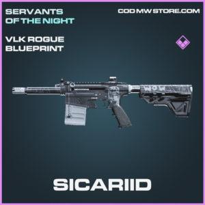 Sicariid VLK Rogue skin epic blueprint call of duty modern warfare warzone item