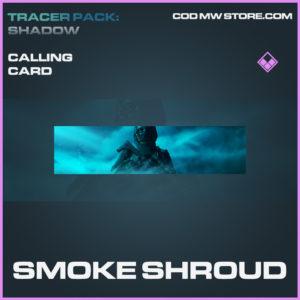 Smoke Shroud Calling card epic call of duty modern warfare warzone item