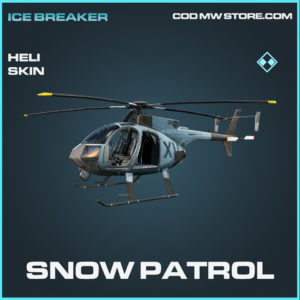 Snow patrol heli skin rare call of duty modern warfare warzone item