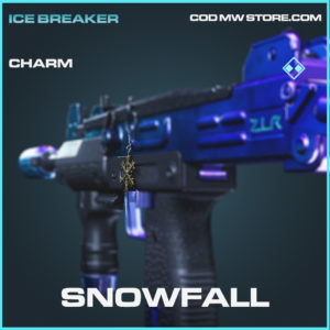 Snowfall charm rare call of duty modern warfare warzone item
