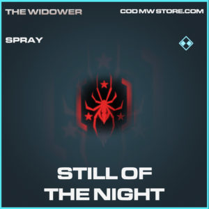 Still of the night spray rare call of duty modern warfare warzone item