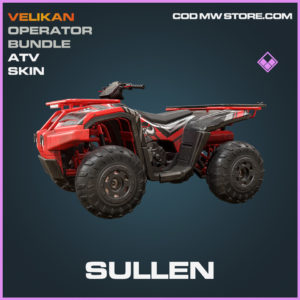Sullen ATV Skin epic call of duty modern warfare warzone item