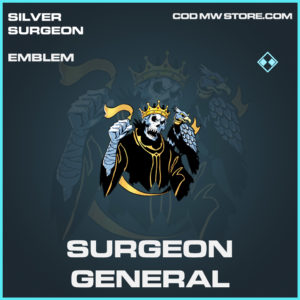 Surgeon General emblem rare call of duty modern warfare warzone item