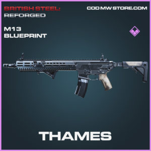 Thames M13 skin epic blueprint call of duty modern warfare warzone item