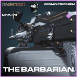 The Barbarian Charm epic call of duty modern warfare warzone item