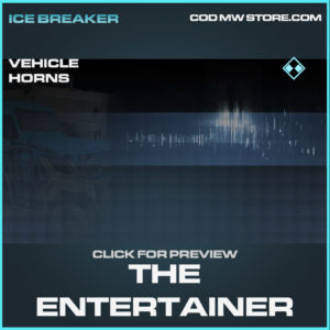 The Entertainer vehicle horns rare call of duty modern warfare warzone item