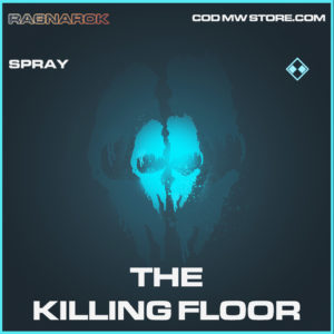The Killing Floor spray rare call of duty modern warfare warzone item