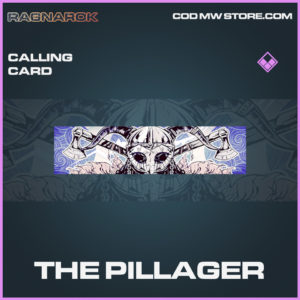 The PIllager epic calling card call of duty modern warfare warzone item