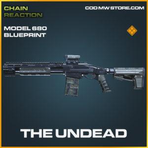 The Undead model 680 skin legendary blueprint call of duty modern warfare warzone item