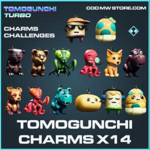 Tomogunchi charms challenges call of duty modern warfare warzone item