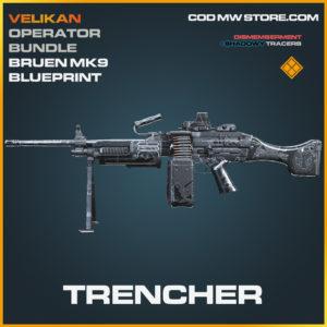 Trencher Bruen MK9 Skin legendary blueprint call of duty modern warfare warzone item
