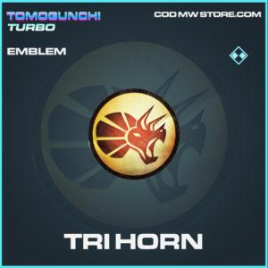 Tri Horn emblem rare call of duty modern warfare warzone item