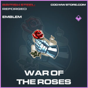 War of the roses emblem epic call of duty modern warfare warzone item