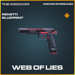 Web of lies Renetti skin legendary blueprint call of duty modern warfare warzone item
