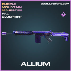 Allium FAL skin epic blueprint call of duty modern warfare warzone item