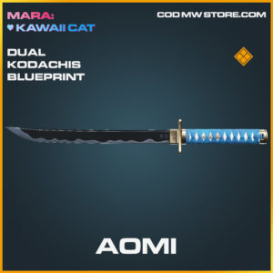 Aomi Dual Kodachis skin legendary blueprint call of duty modern warfare warzone item