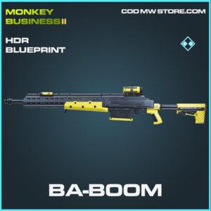 Ba-Boom HDR skin rare blueprint call of duty modern warfare warzone item