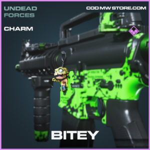 Bitey charm epic call of duty modern warfare warzone item