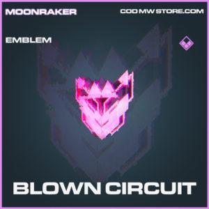 Blown Circuit emblem epic call of duty modern warfare warzone item