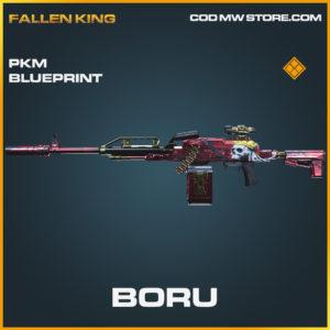 Boru PKM blueprint legendary call of duty modern warfare warzone item