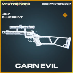 Carn Evil .357 skin legendary blueprint call of duty modern warfare warzone item
